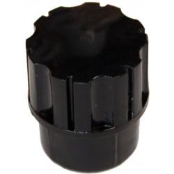 Grip Studios : Valkyrie Hand Sparkle Silver Metallic Left