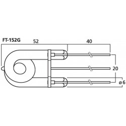 Yamaha : Birne 56mm CL457-20