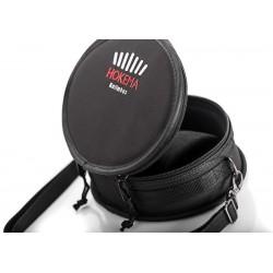 Omnitronic : Puck Single-Mittelstück Aluminium silber